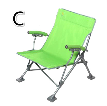 Ultra Light Portable Fishing Chair Outdoor Recreational Camping Chair Backrest Canvas Folding Chair For Traveling Long Performance Life Furniture