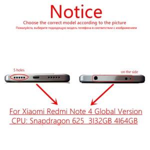 Image 5 - اختبار شاشة LCD + الإطار ل شاومي Redmi نوت 4 النسخة العالمية شاشة تعمل باللمس LCD محول الأرقام Redmi نوت 4 أنف العجل 625 أجزاء