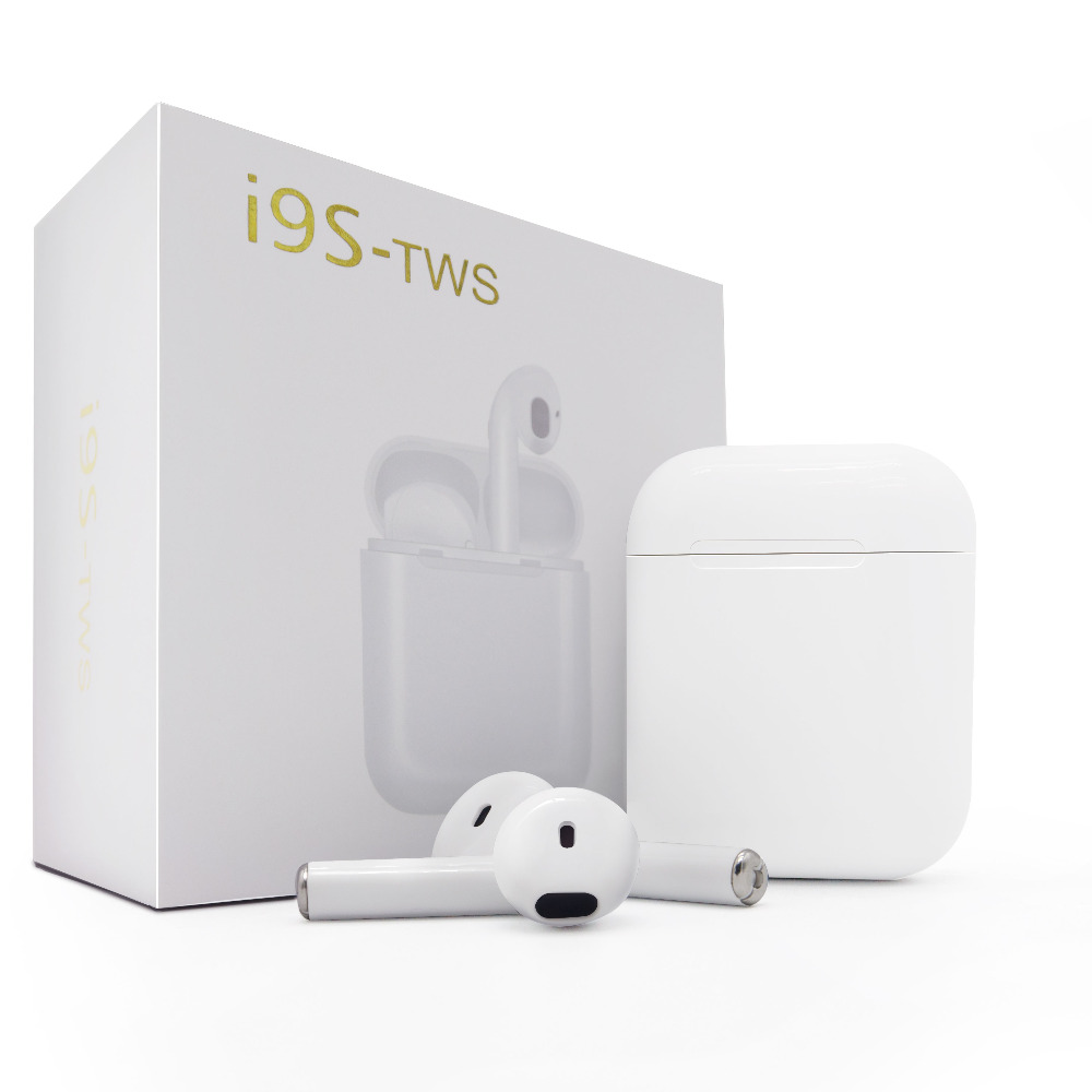 IFANS i9s tws Twins Earbuds Mini Wireless Bluetooth Earphones Air Pod Headsets Stereo Earbuds Wireless For Xiaomi IPhone Android ifans ifans101 white