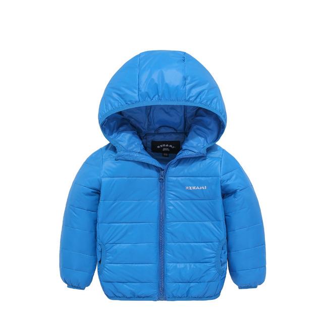 Crianças de alta Qualidade Para Baixo Casacos 2017 Nova Moda Meninos Inverno roupas quentes Para As Meninas crianças Casuais Com Capuz Para Baixo Casacos de 11 cor