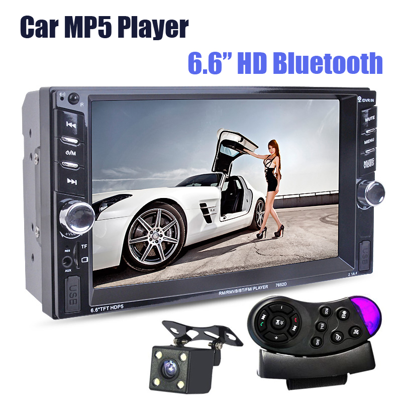 NEW 6 6 inch LCD Touch screen car radio mp5 player BLUETOOTH mp4 mp3 audio 1080P