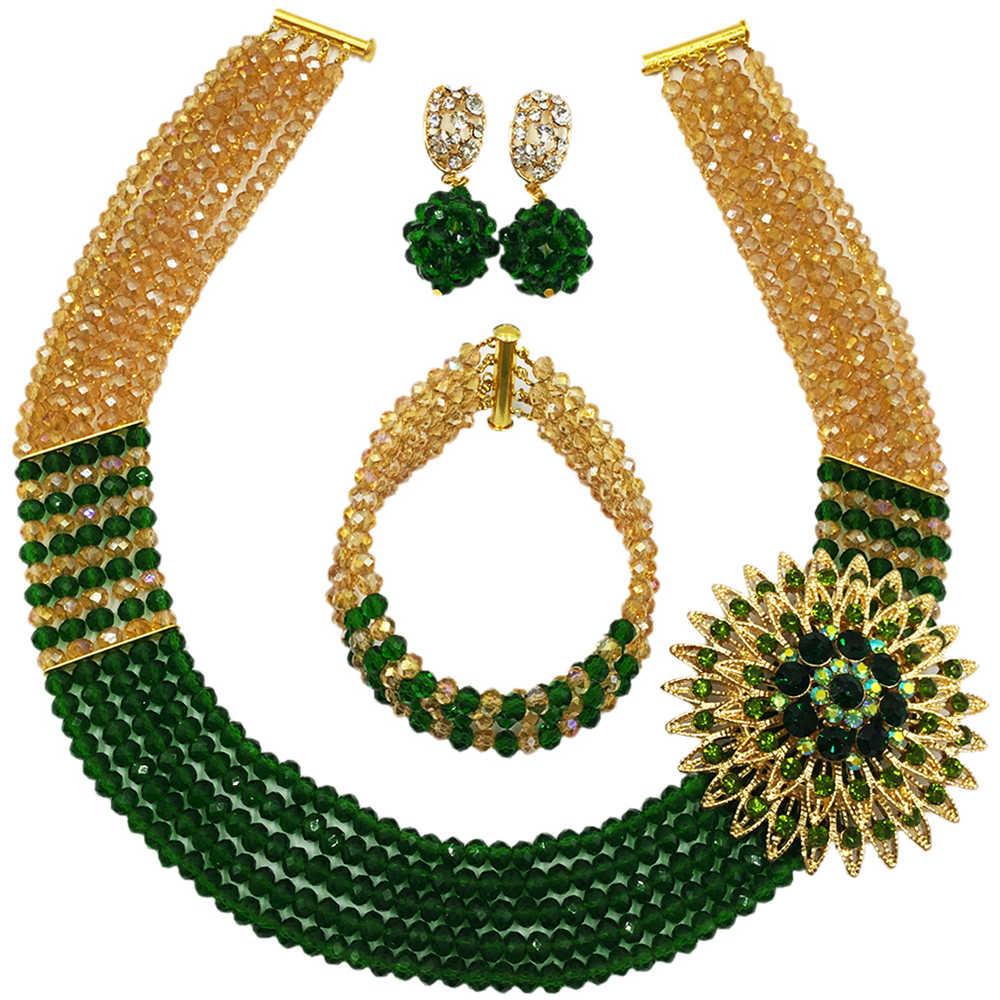 Gold AB Dark Green (1)