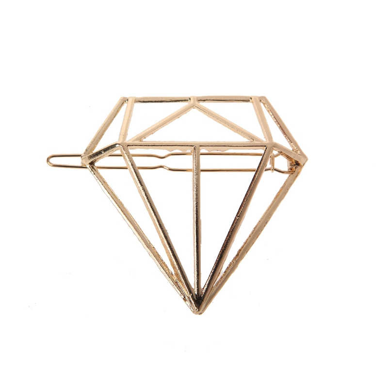 2017 Wanita Hollow Keluar Klip Rambut Diamond Bentuk Katak Gesper Rambut Pin Rambut Ornamen Aksesoris Rambut Yang Indah Klip Pin baru