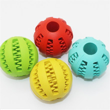 2019 Pet Dog Toys Toy Funny Interactive Elasticity Ball Dog Chew Toy For Dog Tooth Clean Ball Of Food Extra-tough Rubber Ball цена и фото