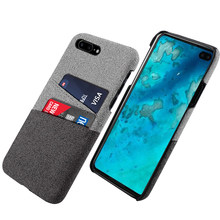 for Google Pixel 3A XL 3A Case Slim Hard PC Back Fabric Anti-Scratch Protective Cloth Cover for Google Pixel 4XL 4 XL Card Case(China)
