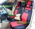 (Delantero y Trasero) Universal de Coche Cubre Para MAZDA Mazda 3 6 CX5 CX7 323 626 M2 Cubierta Del Coche Cubre Asiento de Coche de Seda Material de + Free
