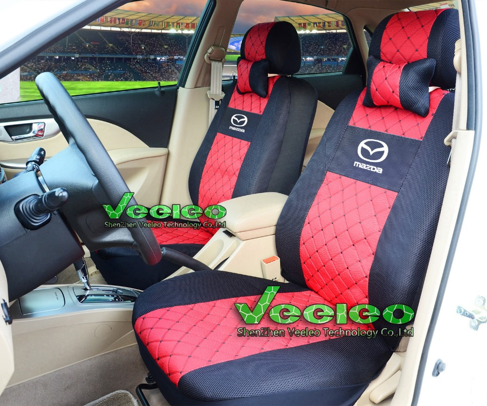 front rear universal car covers for mazda 3 mazda 6 cx5 cx7 323 626 m2 car seat cover car. Black Bedroom Furniture Sets. Home Design Ideas