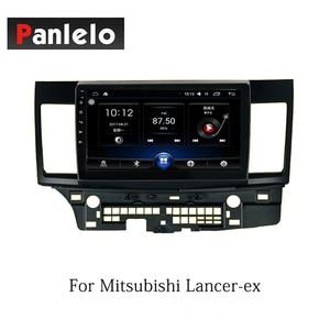 Image 2 - Panlelo 자동차 스테레오 안드로이드 8.1 미쓰비시 asx 외계인 랜서 ex 2 딘 라디오 am/fm gps 네비게이션 bt 스티어링 휠 컨트롤