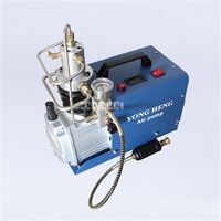 New Arrival Automatic Shutdown Electric High Pressure Air Pump Water Cooled Single Tank 50L Min 0