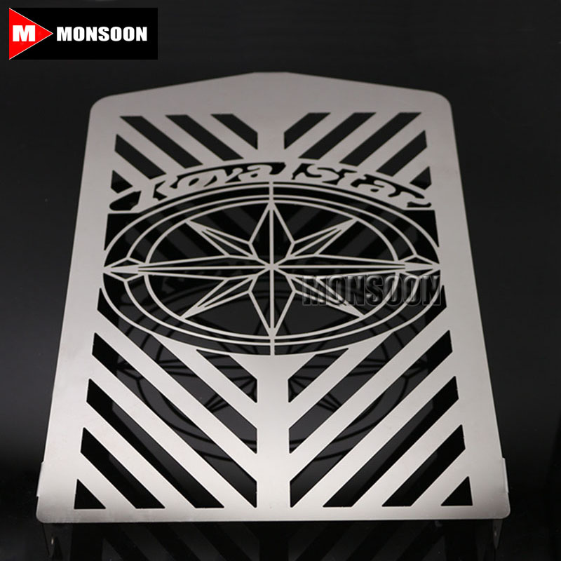 For YAMAHA XVZ13 Royal star XVZ1300 Motorcycle Accessories Radiator Grille Guard Cover Fuel Tank Protection Net motorcycle radiator grill grille guard screen cover protector tank water black for bmw f800r 2009 2010 2011 2012 2013 2014
