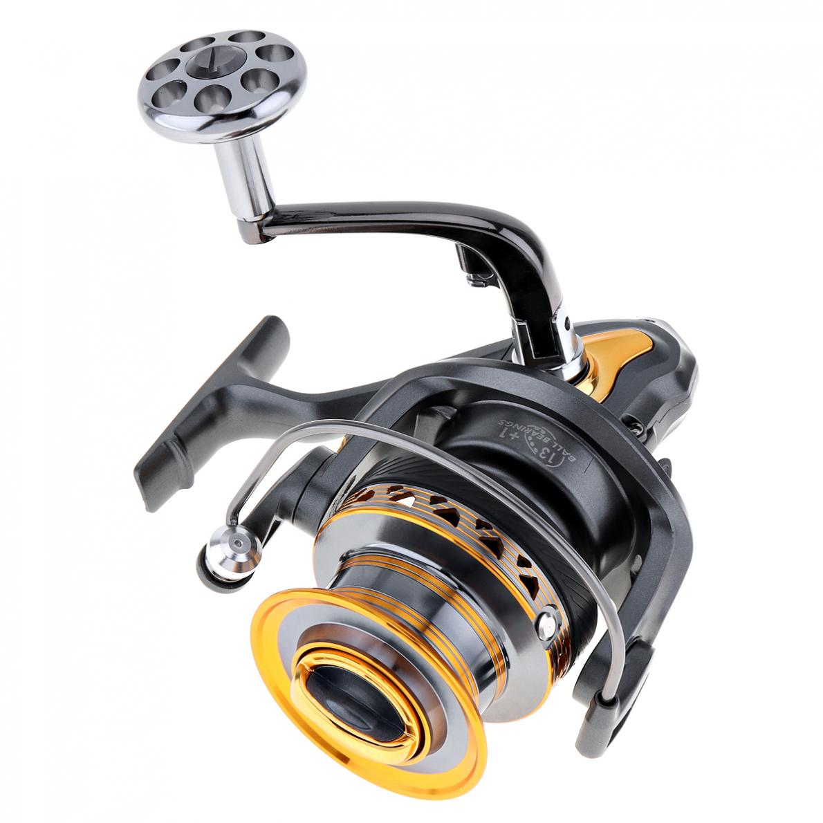 6000/7000 Series 4.7:1 13+1 Ball Bearings Aluminum Spool Spinning Fishing Reel Long Distance Surfcasting Reel ball bearing professional long distance casting spinning fishing reel surfcasting reel left right spinning reel