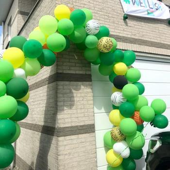 159pcs Jungle Safari Party Balloon Arch Baby Shower Jungle Balloons Aniversario Latex Balloon Garland Birthday Decoration Adults 1