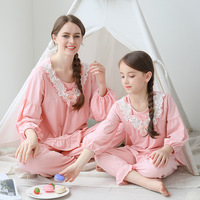 Family Matching Outfits Mom And Daughter Pajama Sets Mother And Daughter Clothes Sleepwear For Summer Mommy And Me Home Clothes