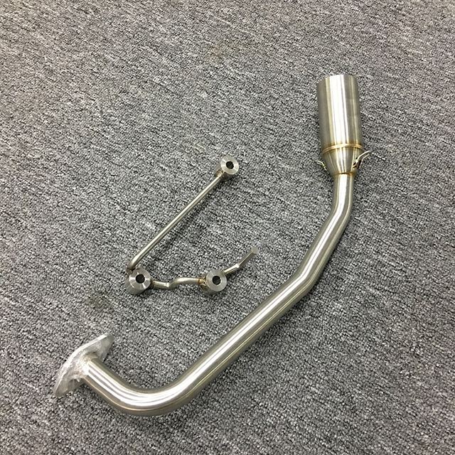For Honda PCX 125 150 Stainless Steel Full Exhaust System Front + 51 mm Tail Pipe with DB Killer Motorcycle Dirt Bike Modified