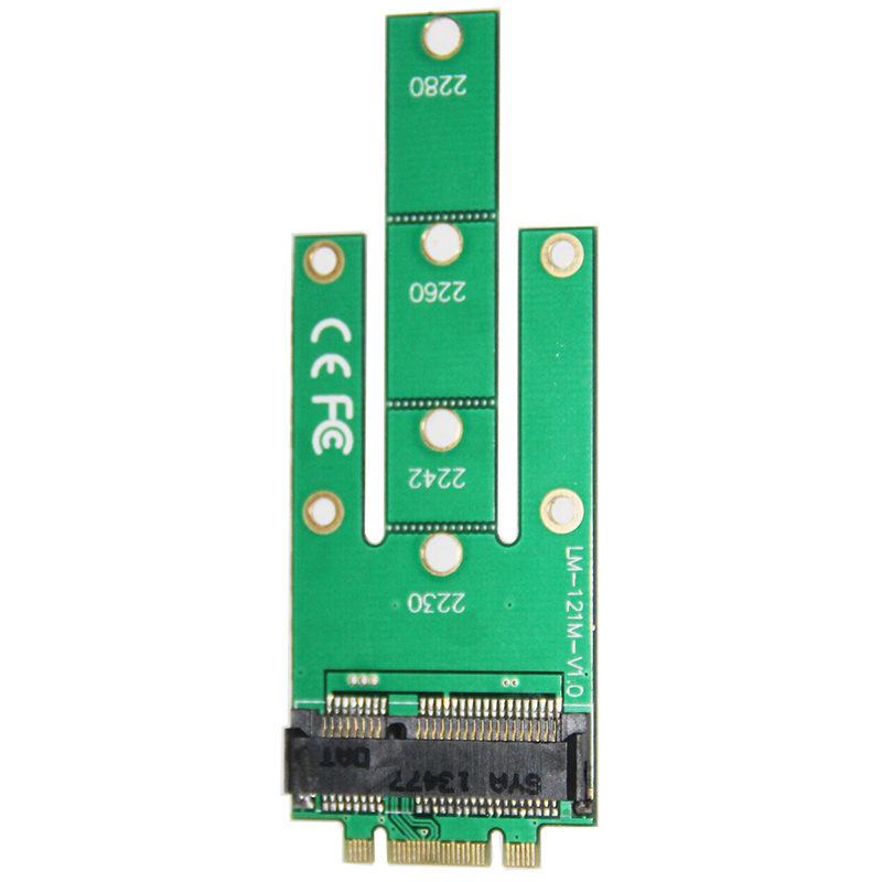 mSATA Mini PCI-E 3.0 SSD to NGFF M.2 B SATA interface network adapter cards