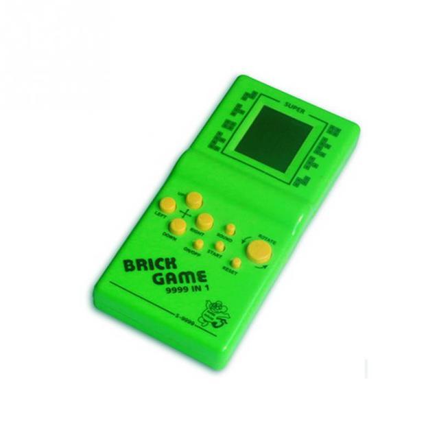 Cổ điển Chơi Game Cầm Tay Máy Tetris Gạch Trò Chơi Trẻ Em Máy Trò Chơi với Trò Chơi Âm Nhạc Phát Lại mà không cần Pin