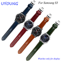For Samsung Gear S3 Classic/Forntier genuine leather watchband 22mm smart watch bracelet quick release