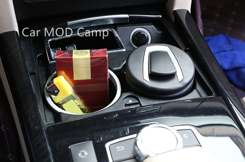For BMW 1 Series F20 2012-2017 / BMW 2 Series Coupe F22 2014-2017 Plastic Interior Cigarette Ashtray Holder 1pcs Car Styling! f20 carbon fiber replace car mirror cover cap trim for bmw f20 auto styling 2012 2014