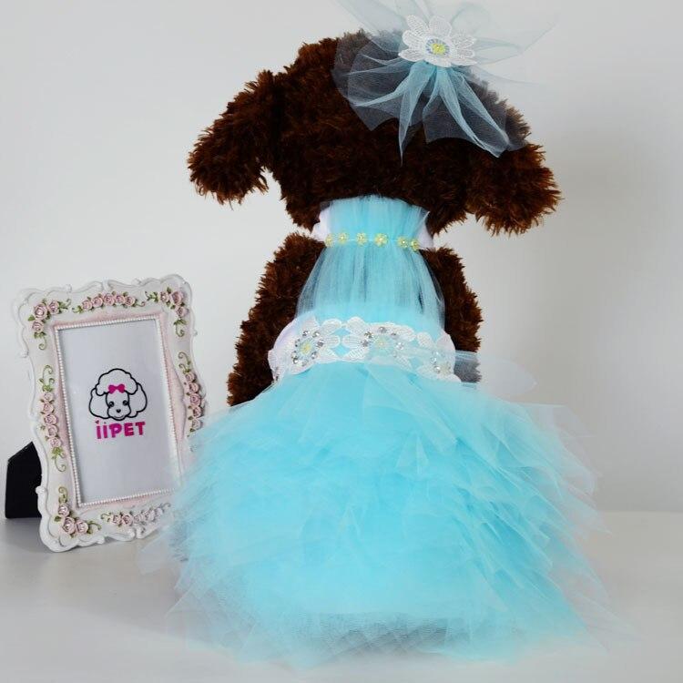 Aliexpress.com : Buy A line Lace flower wedding dress for dog cat ...