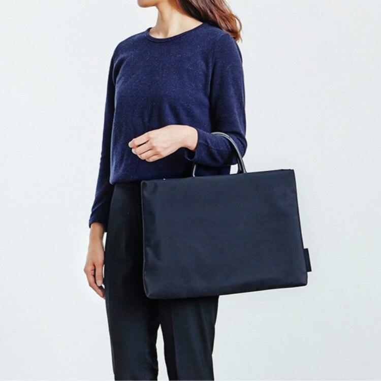 2019 Briefcase Laptop Computer Bag Laptop Notebook Bag Women Travel Bussiness Slim Handbag 15.6 Inch Macbook Pro PC Sleeve Case