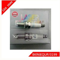 4pcs/lot Spark Plugs For AUDI A8 320i 528i X3 X5 911 Carrera Arange Cowin Nickel Alloy BKR6EQUP 3199