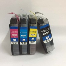4pcs LC529XL LC525XL Compatible ink cartridge For Brother DCP-J100 DCP-J105 MFC-J200 J100 J105 J200