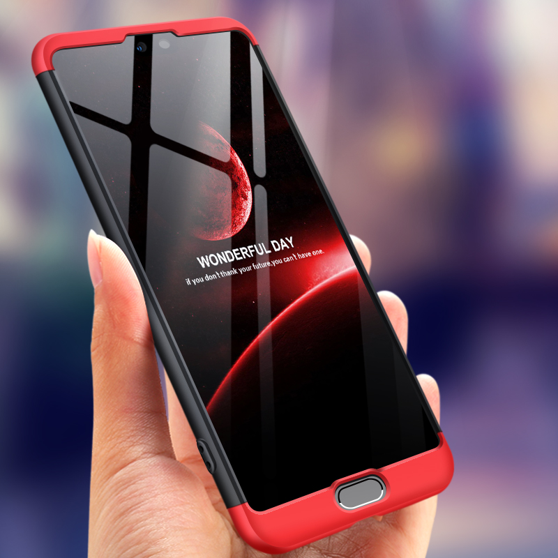 For Huawei P20 Pro Case 360 Degree Protected Full Body Phone Case for Huawei P 20 Pro Case P20Pro Shockproof Cover Glass Film in Fitted Cases from Cellphones Telecommunications