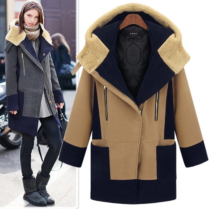 Tan Wool Coats   Down Coat