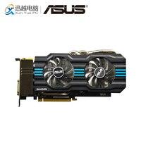 ASUS GTX 760 DC2T 2GD5 GDDR5 оригинальные видеокарты ГБ GDDR5 256 бит GTX 760 видеокарта DVI HDMI DP для Nvidia Geforce GTX 760