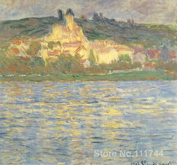 Vetheuil Claude Monet paintings for sale Landscape art Handmade High quality
