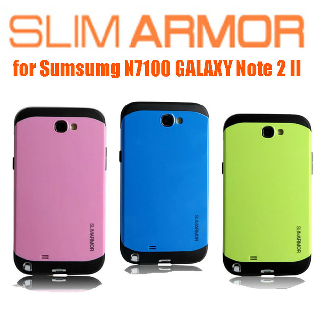 innovative design 2b226 d7f98 US $4.99 |SGP SPIGEN Slim Armor Armour Case for Samsung Galaxy Note 2 II  N7100 Plastic Cover Cases For Note 2 N7100 Wholesale on Aliexpress.com | ...