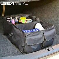 SEAMETAL Car Trunk Tools & Food Organizer