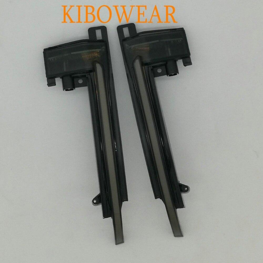 KIBOWEAR динамический мигалка зеркало свет для Audi A3 8 P A4 A5 B8 Q3 A6 C6 4F S6 светодиодный поворотник боковой индикатор SQ3 A8 D3 8 K