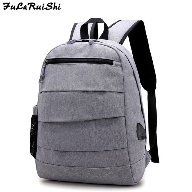 FULARUISHI Men s Backpack Male Oxford Laptop Backpack Casual Computer Bag  College Student School Rucksack Travel Bag Man Mochila e313939e02799