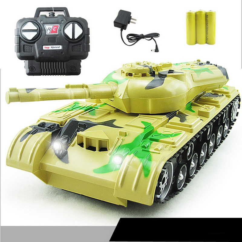 Children educational toy wireless remote control tank 5820 rc tank simulation battle remote control tank toy model rc toy gifts 2 4g huanqi 516c rc infrared battle tank automatic shows tank remote control toys tank for children gift 1pcs lot