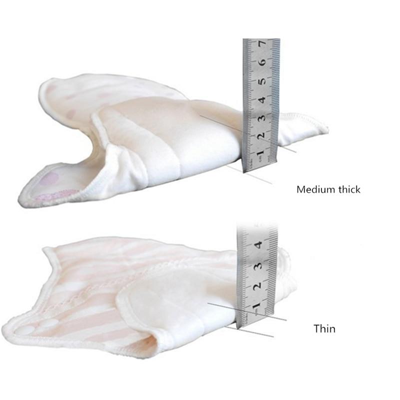 1pcs Panty Liner Pads Menstrual Cloth Sanitary Pad Thin Cotton Feminine Hygiene Health Care Leakproof Washable