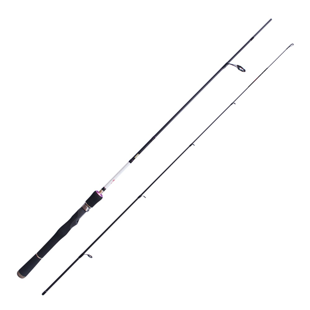 Brave Fresh Water Spinning Rod 1.98m FUJI Guide Seat Reel ML M-F Action 98% Carbon  Vara De Pesca De Carbono Peche Fishing Pole noeby 2section 1 8m 2 13m m ml casting fishing rod fuji rings and reel seat bass rod canne a peche varas de pesca para rios olta