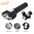 5000 lumen Rechargeable Led Flashlight xml t6+2Q5 Led Torch Lanterna Tatica 18650 Flash Light Camping Hunting Portable Light