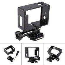 Для Go Pro аксессуары пластиковые стандартный защитная рамка корпуса Quick Release Пряжка основание для GoPro Hero 3 3 + 4 камеры
