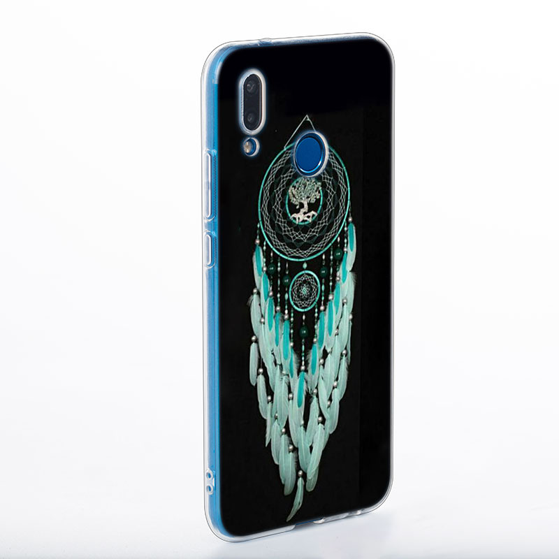 Transparent Soft Silicone Phone Cases Dream Catcher for Huawei Honor 7A Pro P Smart P20 P9 P8 9 Lite 2017 in Fitted Cases from Cellphones Telecommunications