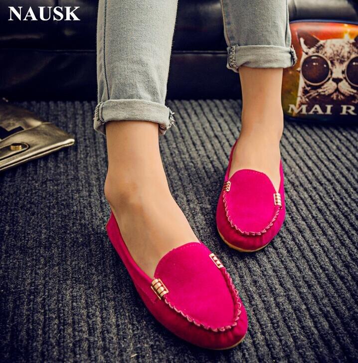 2782c6df7 Pura Hot Do Casuais Pé Preto Sale Feminino 2018 vermelho Sapatos Nova  Concisa Nausk Redondo Cor ...