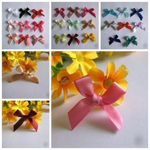 Free Shipping 250pcs/lot  25 color (3/8) New ribbon bows diy baby kids girls hair decoration garment accessories