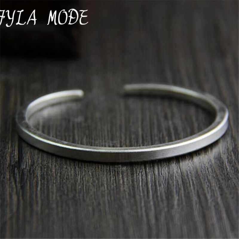 Fyla Mode Brand New Famous Trendy Antique Thai 925 Bangles Silver & Bracelets For Men Gratë Bizhuteri Moda Dhurata e dashurisë PKY315