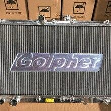 Высокое качество индивидуализированный радиатор для Galant VR4 EC5A EC5W 6A13TT 96-03 40 мм ядро