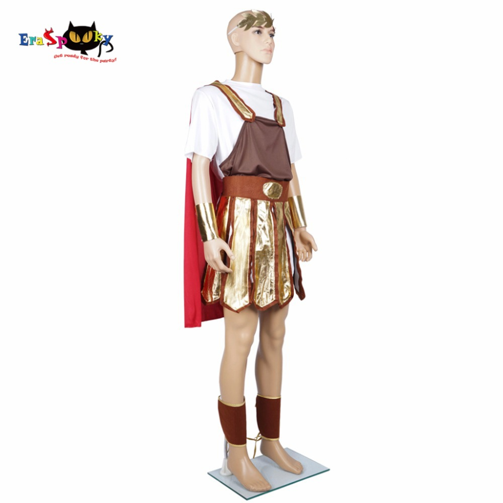 5 Pcs/Lot Men Trojan Soldier Costume Red u0026 Gold Toga Cape Wristband Halloween Male Roman Gladiator Outfits Cosplay Clothing on Aliexpress.com | Alibaba ...  sc 1 st  AliExpress.com : trojan soldier costume  - Germanpascual.Com