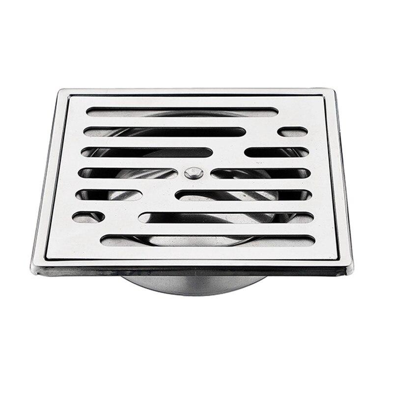 2017 new 15 cm oversize in acciaio inox anti odore scarico a pavimento bagno