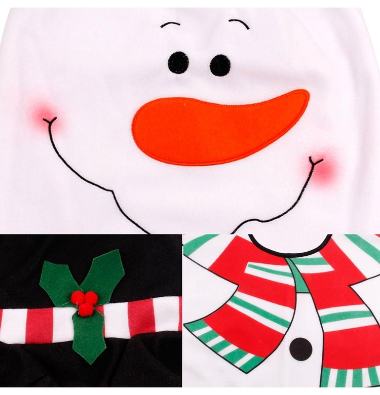 HTB1 N7tSFXXXXXGXXXXq6xXFXXXq - FENGRISE Santa Claus Rug Toilet Seat Cover Christmas Decoration Fancy
