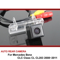 HD CCD Car Reverse Backup Rearview Parking Rear View Camera Night Vision For SONY For Mercedes Benz CLC Class CL CL203 2008~2011
