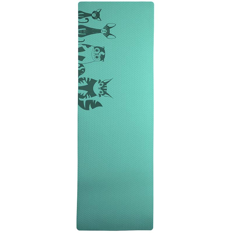 6MM TPE Non slip Yoga Mats For Fitness Tasteless Pilates Gym Exercise Sport in Yoga Mats from Sports Entertainment
