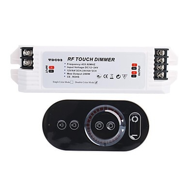 2 Channel Smart Rf Light Led Dimmer Switch Remote